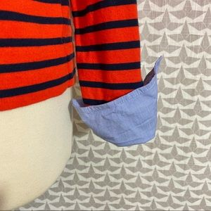 J. Crew Factory Tops - 🆑FINAL PRICE J. Crew Factory Cuff Stripe Shirt